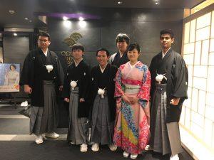 竜の子財団奨学生卒業生の皆様、振袖はCOCONのレンタル着物です